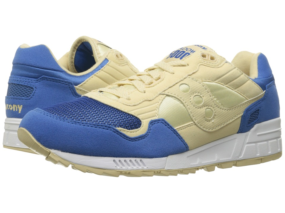 Saucony Originals - Shadow 5000 (Cream/Blue) Men's Classic Shoes