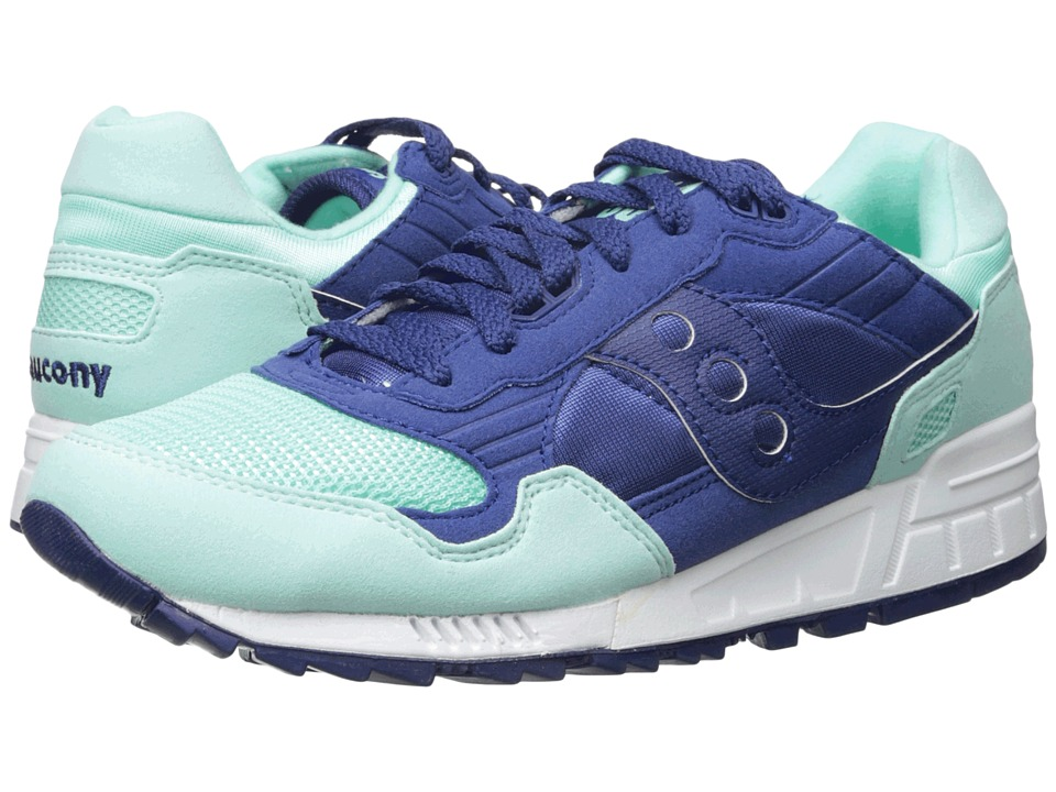Saucony Originals - Shadow 5000 (Blue/Mint) Men's Classic Shoes