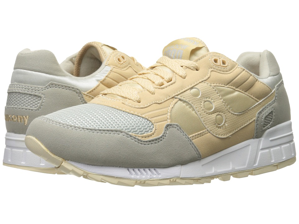 Saucony Originals - Shadow 5000 (Light Tan/Grey) Men's Classic Shoes