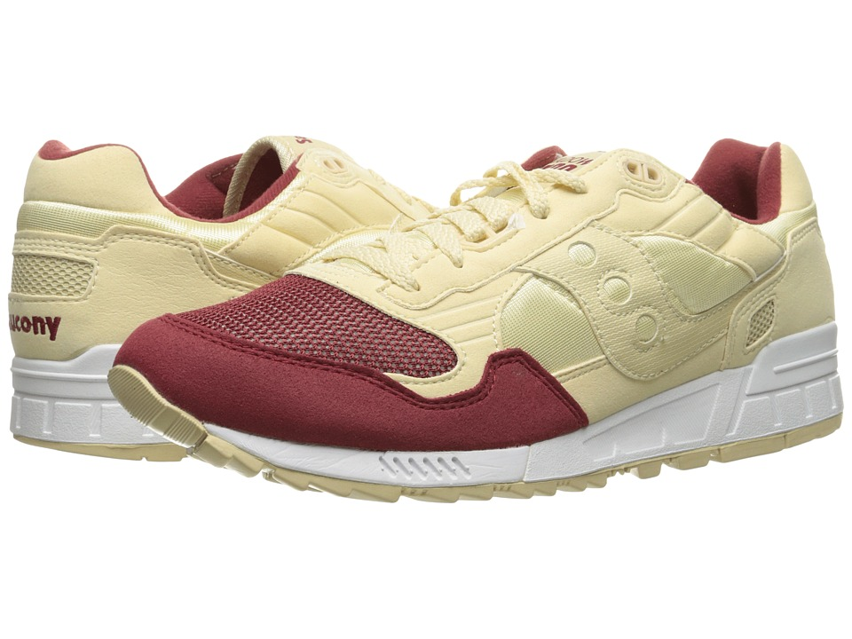 Saucony Originals - Shadow 5000 (Cream/Red 1) Men's Classic Shoes