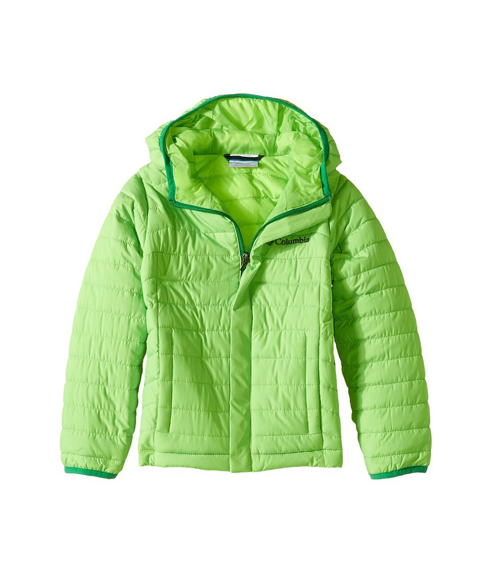 Columbia Kids - Powder Lite Puffer (Little Kids/Big Kids) (Green Mamba/Fuse Green) Boy's Coat