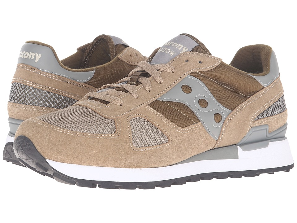 Saucony Originals - Shadow Original (Taupe/Green) Men's Classic Shoes