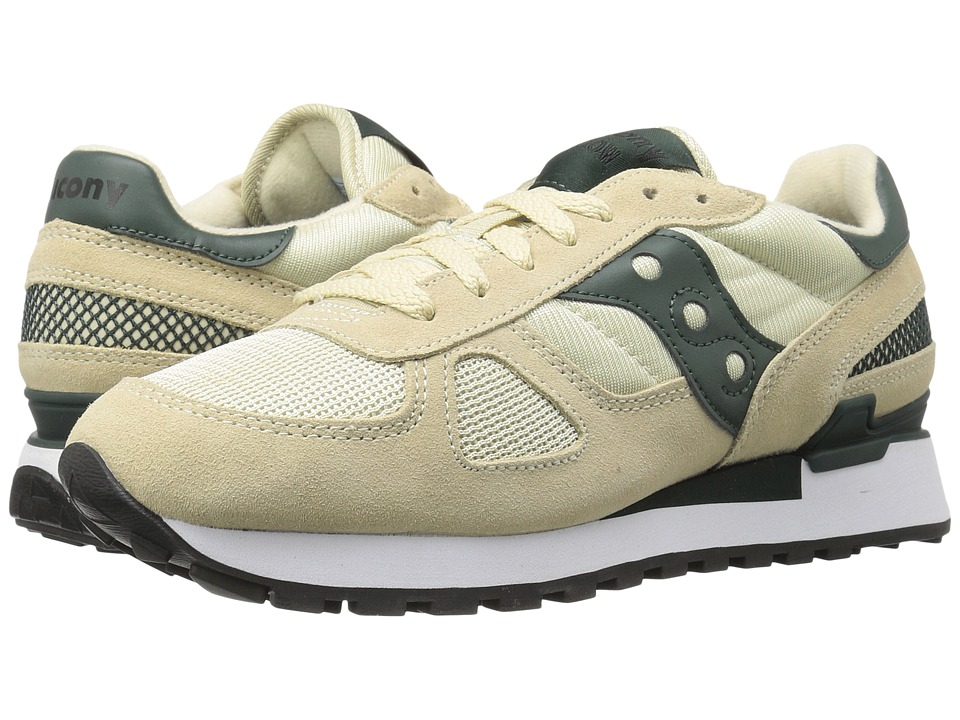 Saucony Originals - Shadow Original (Sand/Green) Men's Classic Shoes