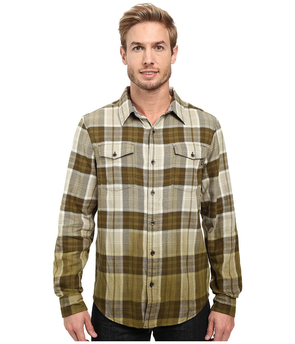 Marmot - Dillon Flannel Long Sleeve Shirt (Winter Pine) Men's Long Sleeve Button Up