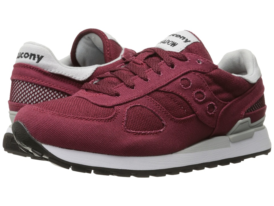 Saucony Originals - Shadow Vegan (Burgundy) Men's Classic Shoes