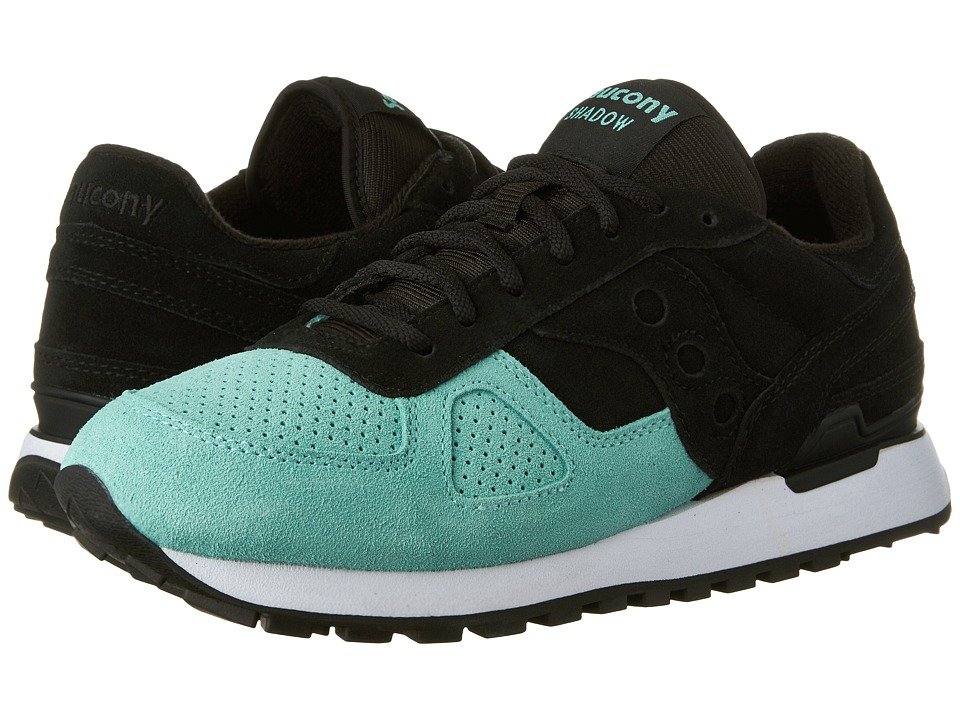 Saucony Originals Shadow Original Suede (Black/Mint) Men