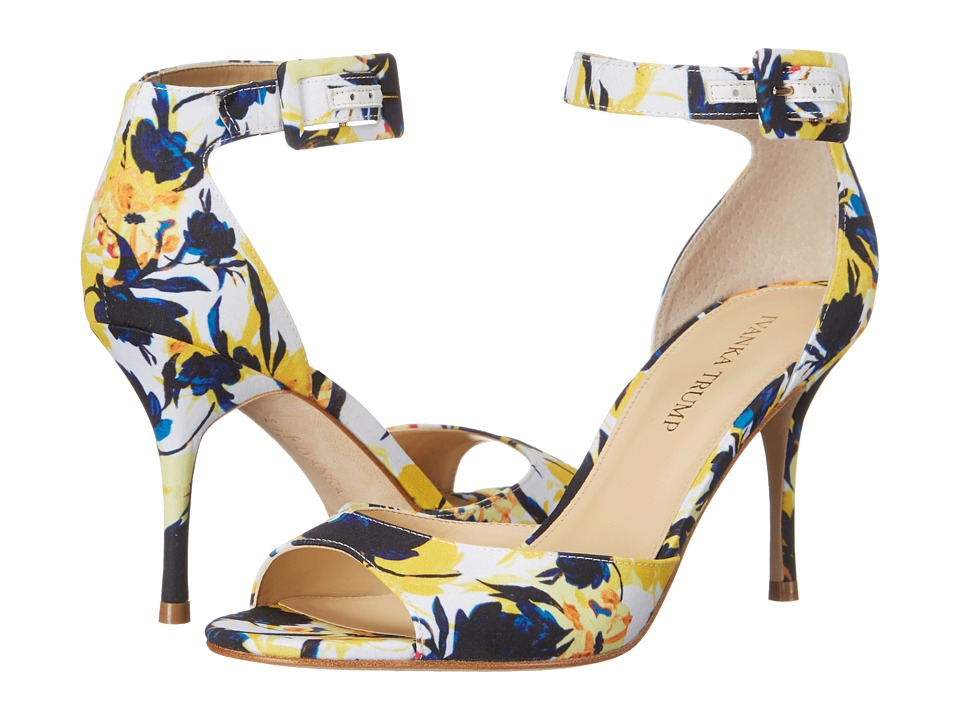 Ivanka Trump - Gladly2 (Yellow Floral) Women's Shoes