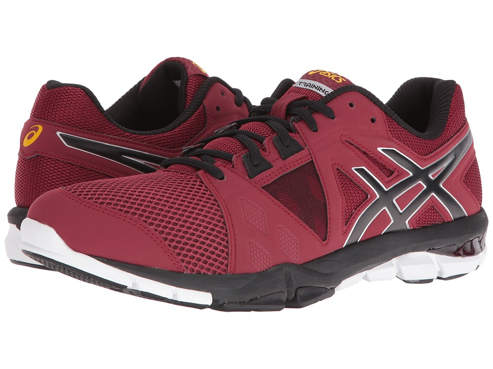 ASICS - Gel-Craze TR 3 (Pomegranate/Black/Lemon) Men's Shoes