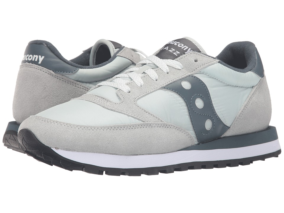 Saucony Originals - Jazz Original (Light Grey/Slate) Men's Classic Shoes