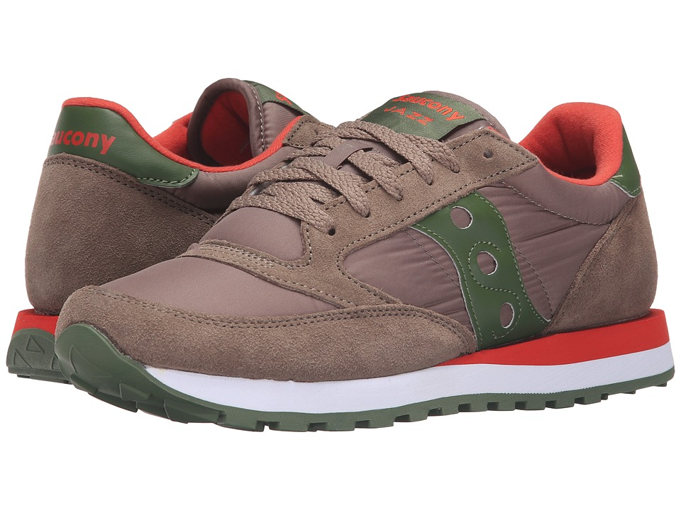Saucony Originals - Jazz Original (Light Brown/Green) Men's Classic Shoes