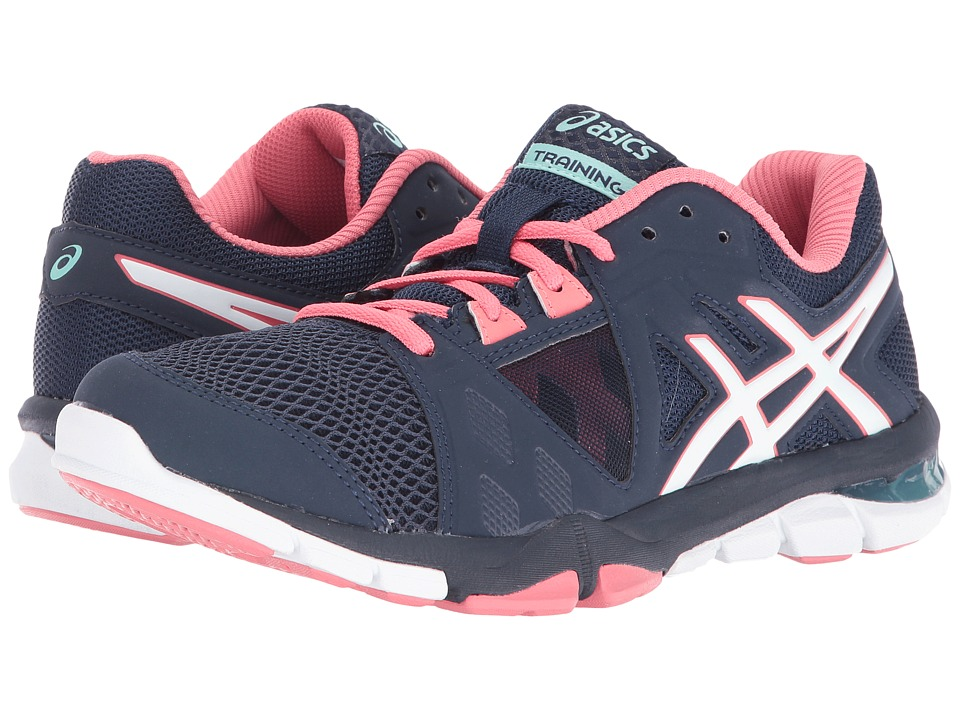 ASICS - Gel-Craze TR 3 (Dark Navy/White/Guava) Women's Shoes