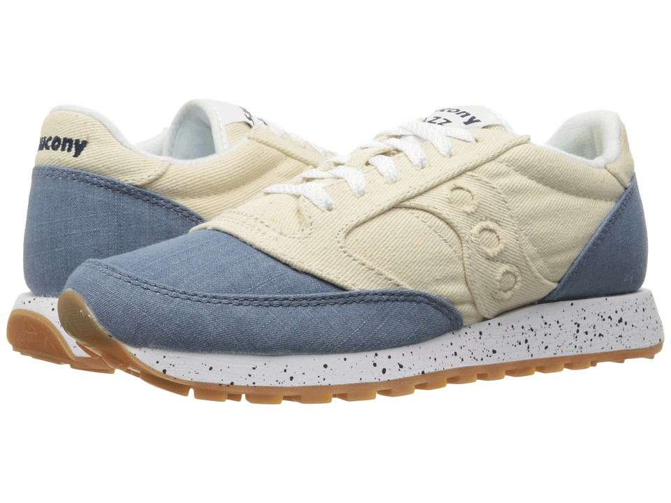 Saucony Originals - Jazz O Denim (Off-White) Men's Lace up casual Shoes