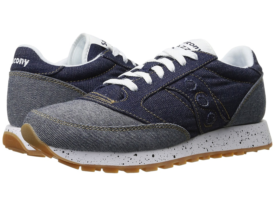 Saucony Originals - Jazz O Denim (Blue) Men's Lace up casual Shoes