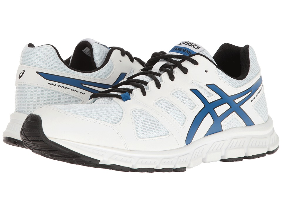 ASICS - Gel-Unifire TR 3 (White/Imperial/Black) Men's Shoes