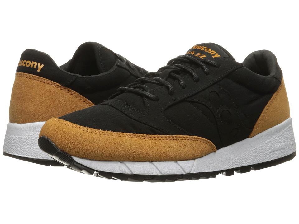 Saucony Originals - Jazz '91 (Black/Yellow) Men's Lace up casual Shoes