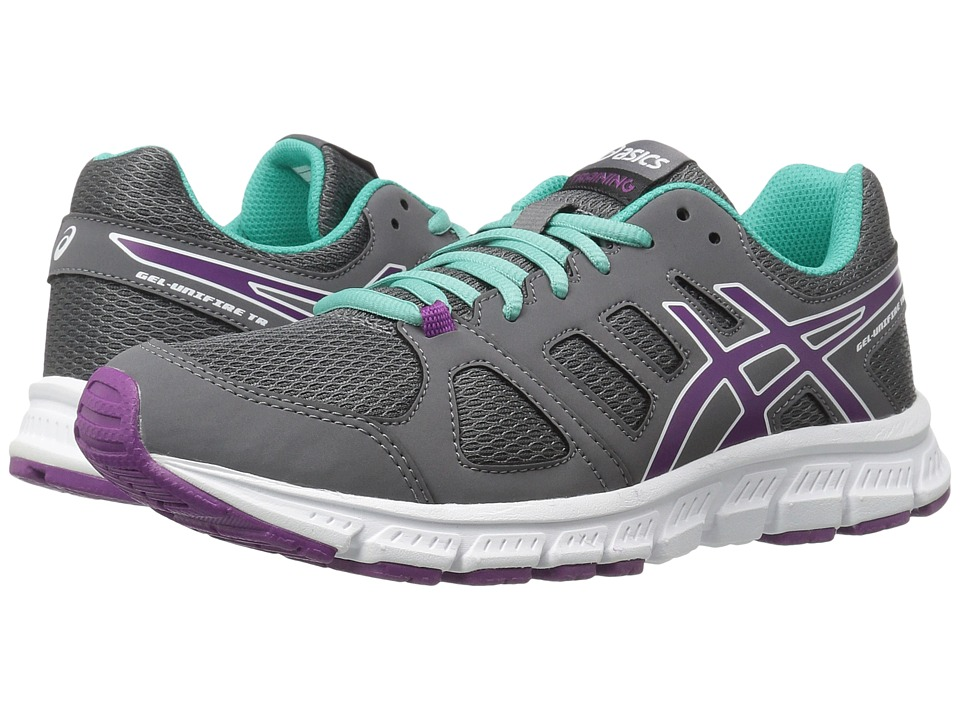 ASICS - Gel-Unifire TR 3 (Shark/Phlox/Turquoise) Women's Cross Training Shoes