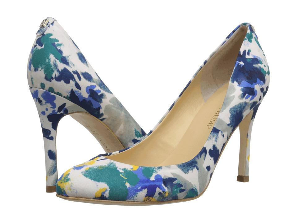 Ivanka Trump - Janie3 (Yellow/Navy Multi) High Heels