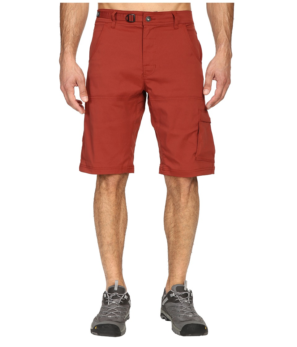 Prana Stretch Zion Short (Brick) Men