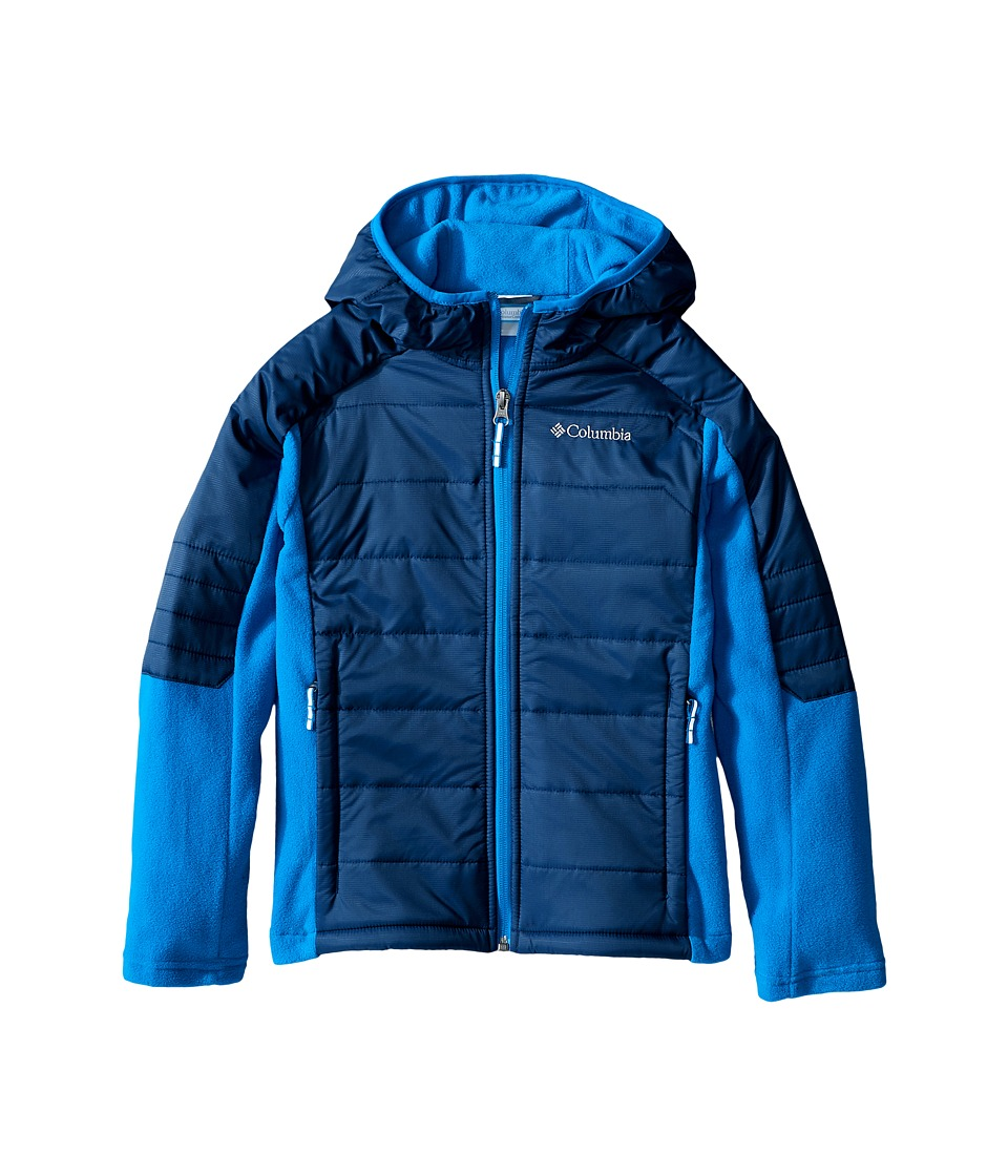 Columbia Kids - Fast Trek Hybrid (Little Kids/Big Kids) (Super Blue Collegiate Navy) Boy's Coat