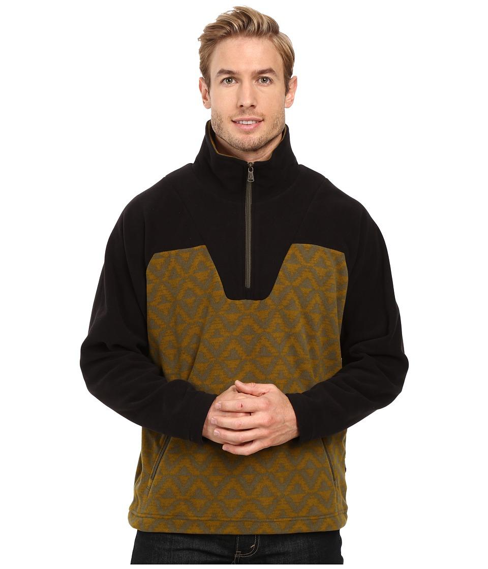 Prana - Arnu 1/4 Zip (Saguaro) Men's Clothing