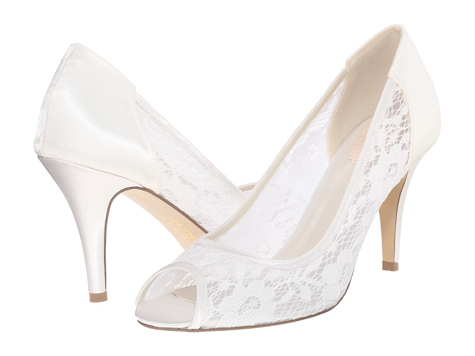 Paradox London Pink - Scrumptious (Ivory Mesh Lace) Women's Shoes