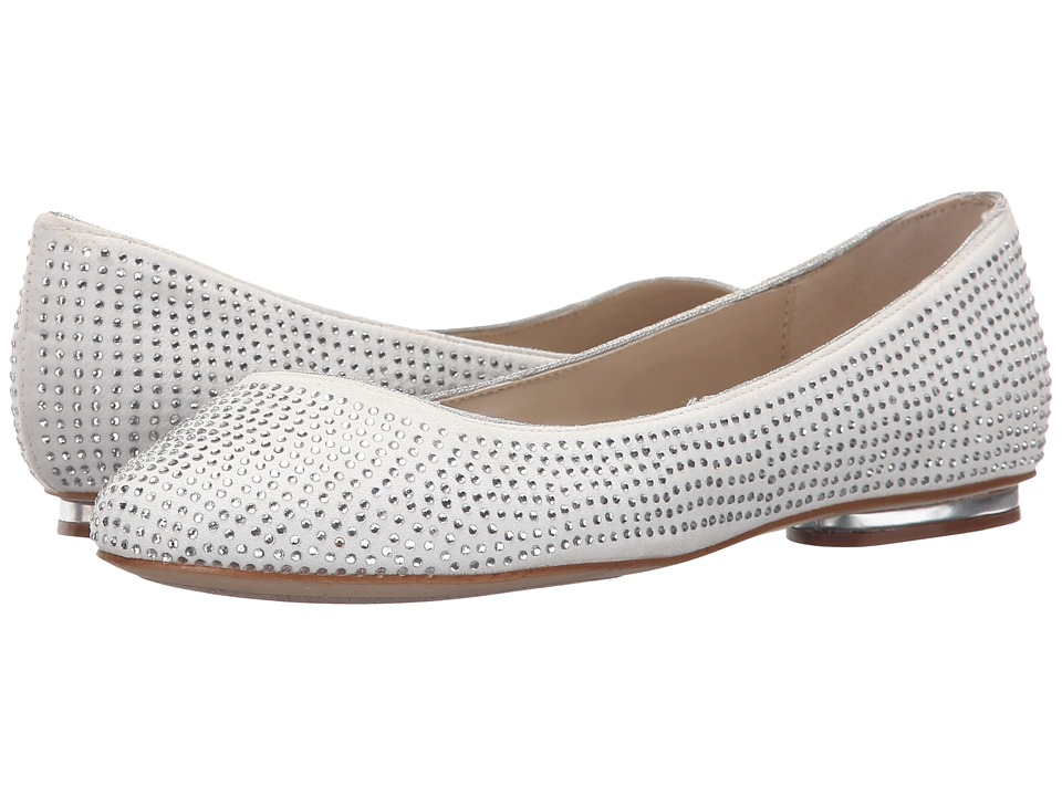 Paradox London Pink - Glint (Ivory Microfibre) Women's Shoes