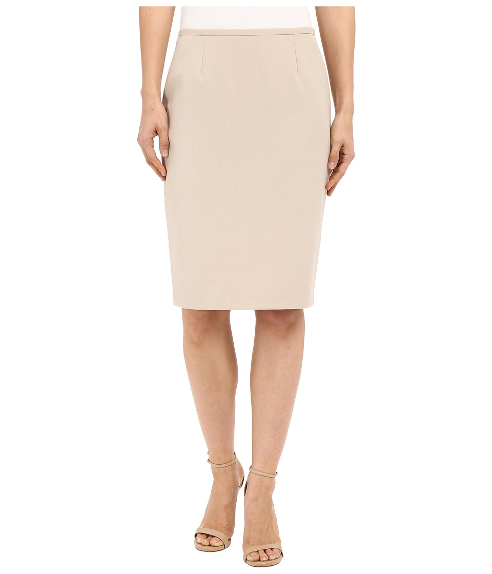 Calvin Klein - Pencil Skirt (Latte) Women's Skirt