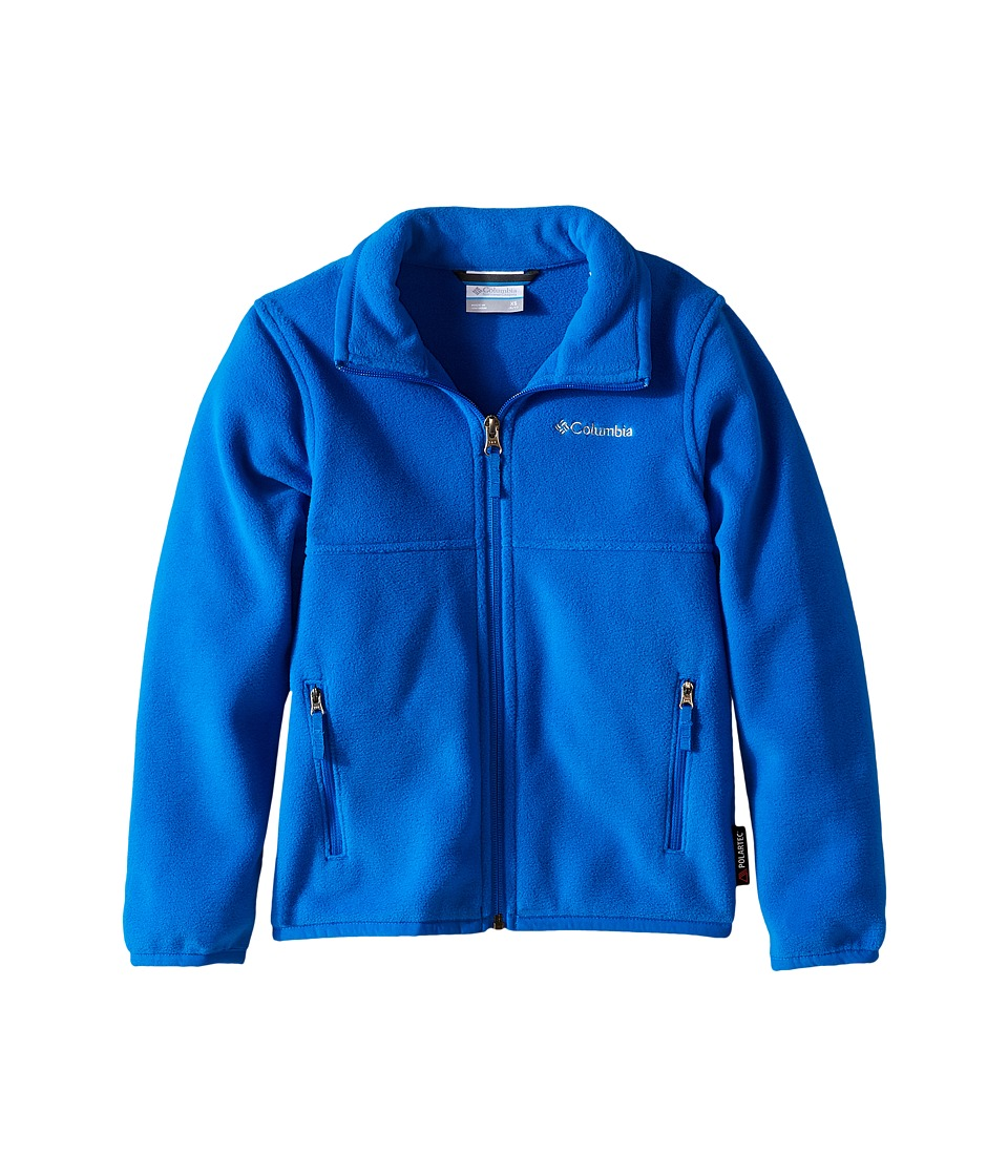 Columbia Kids - Fuller Ridge 2.0 Full Zip Fleece (Little Kids/Big Kids) (Super Blue) Boy's Long Sleeve Pullover