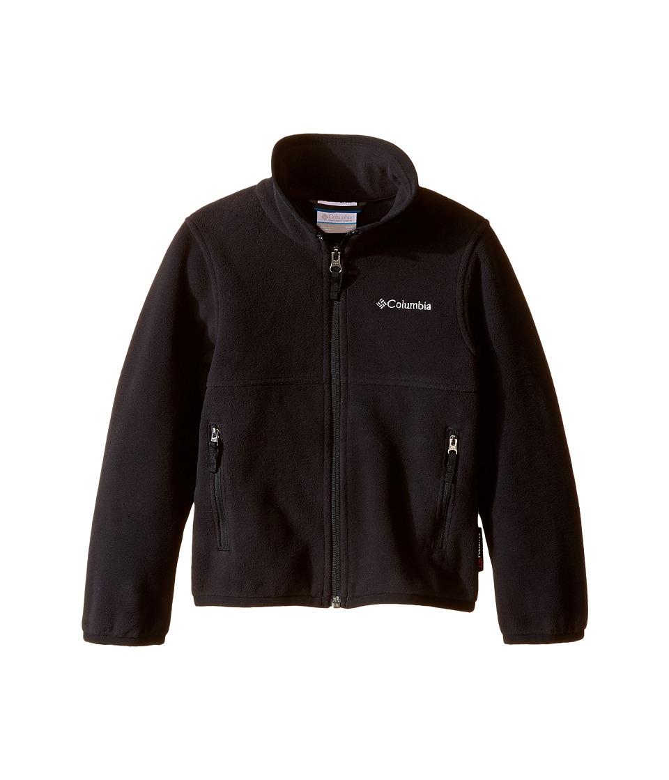 Columbia Kids - Fuller Ridge 2.0 Full Zip Fleece (Little Kids/Big Kids) (Black) Boy's Long Sleeve Pullover