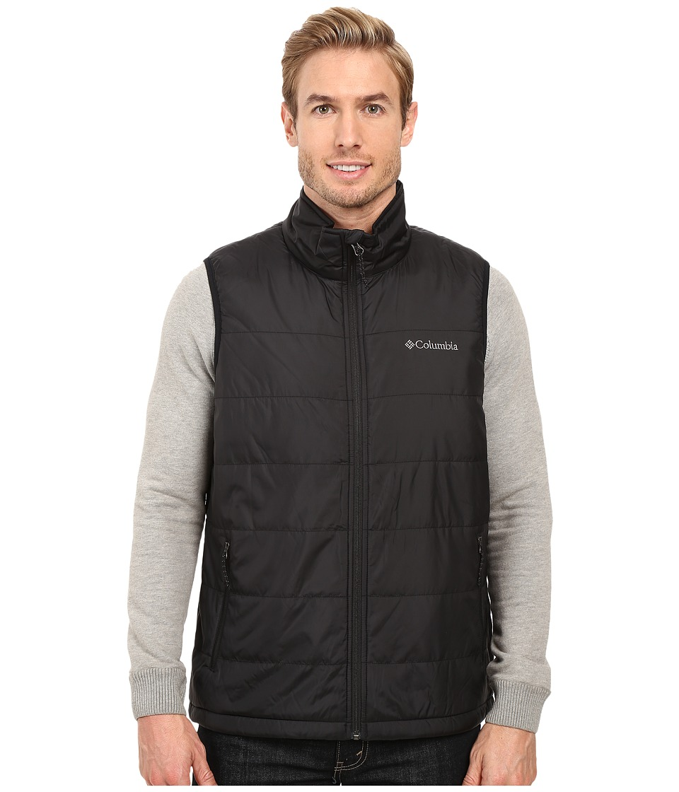 Columbia - Saddle Chutes Vest (Black) Men's Vest