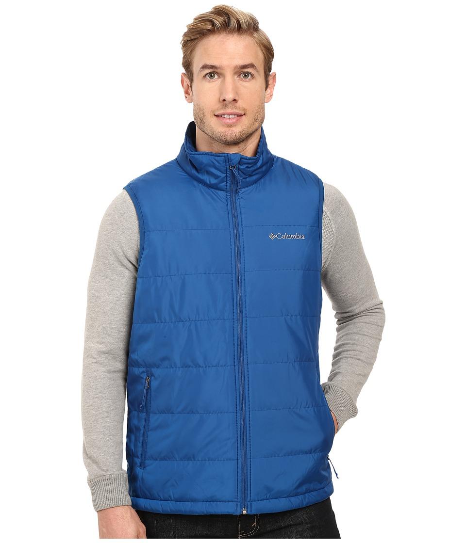 Columbia - Saddle Chutes Vest (Marine Blue) Men's Vest
