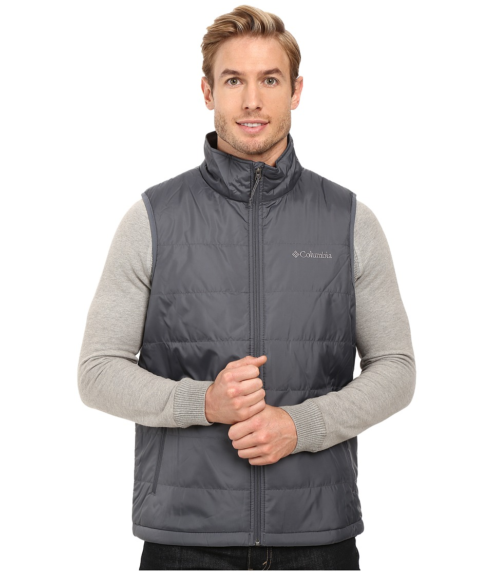 Columbia - Saddle Chutes Vest (Graphite) Men's Vest