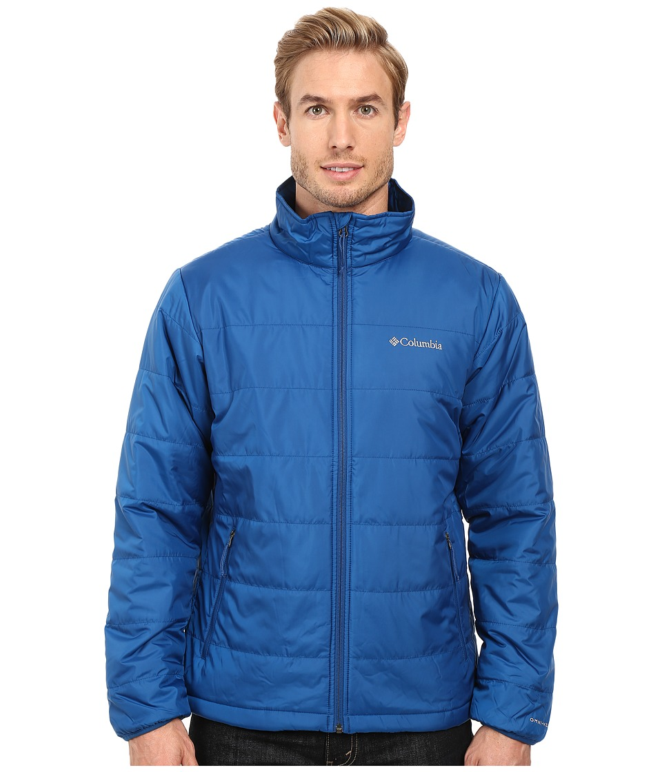 Columbia - Saddle Chutes Jacket (Marine Blue) Men's Coat