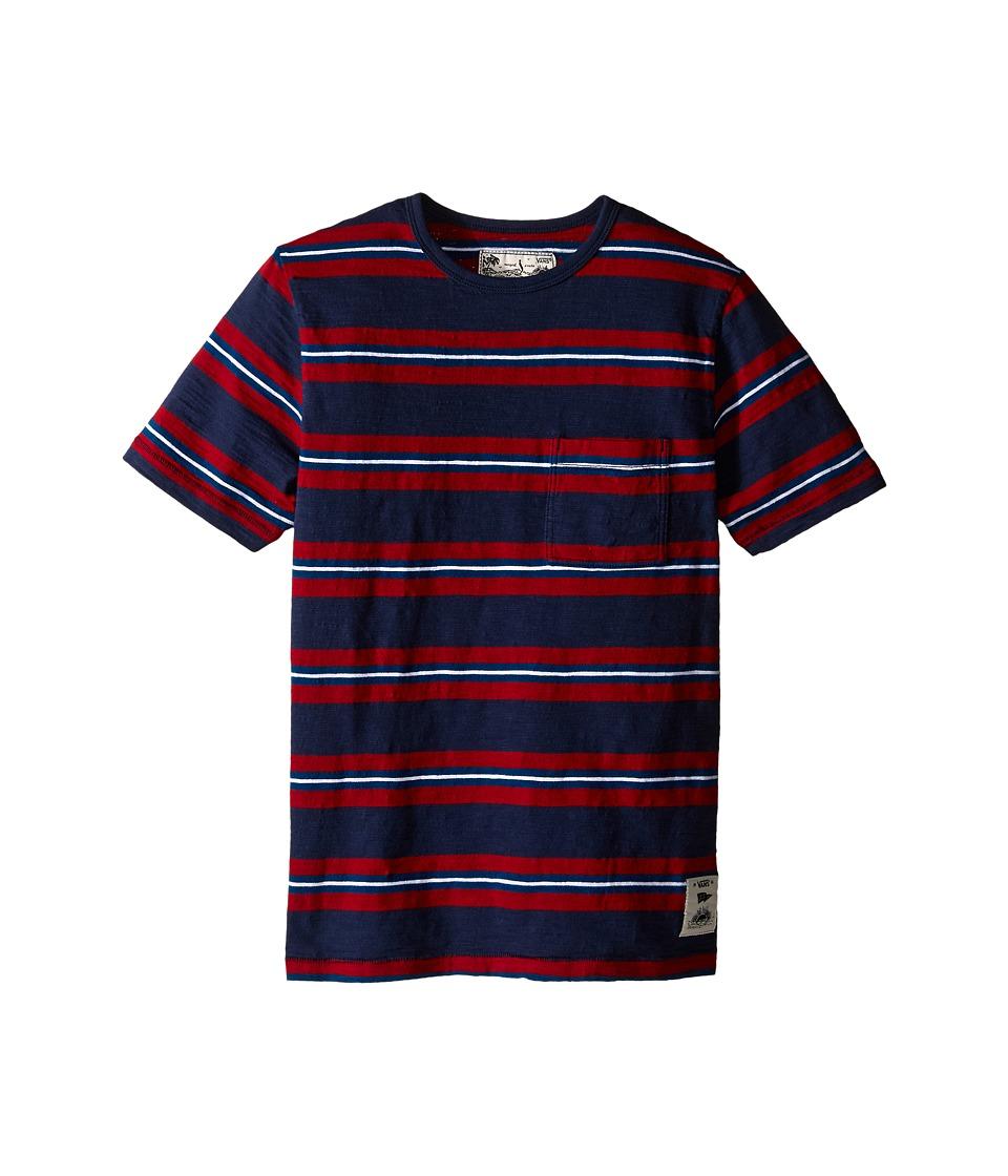 Vans Kids - JT Culloden (Big Kids) (Dress Blues) Boy's Clothing