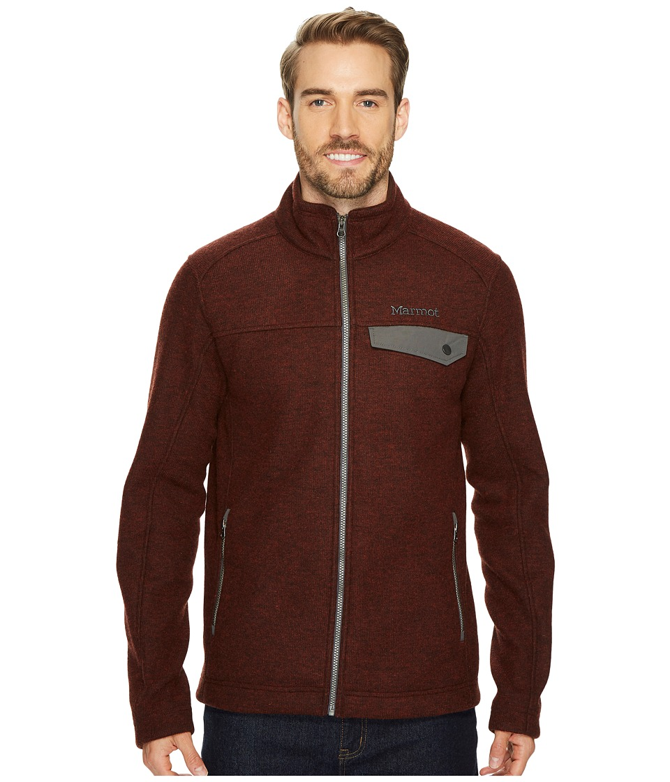 Marmot Poacher Pile Jacket (Dark Rust Heather) Men
