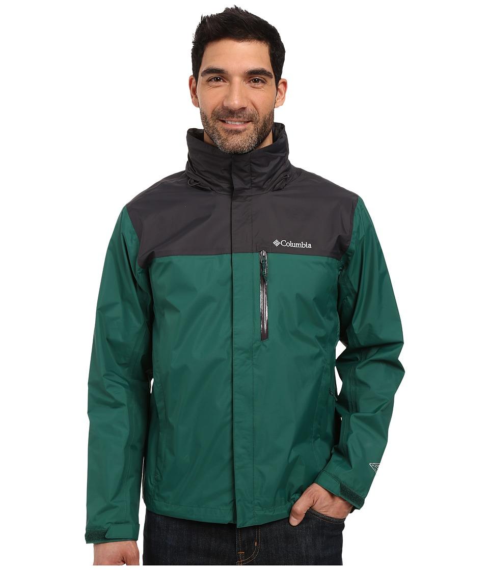 Columbia - Pouration Jacket (Wildwood Green/Shark) Men's Coat