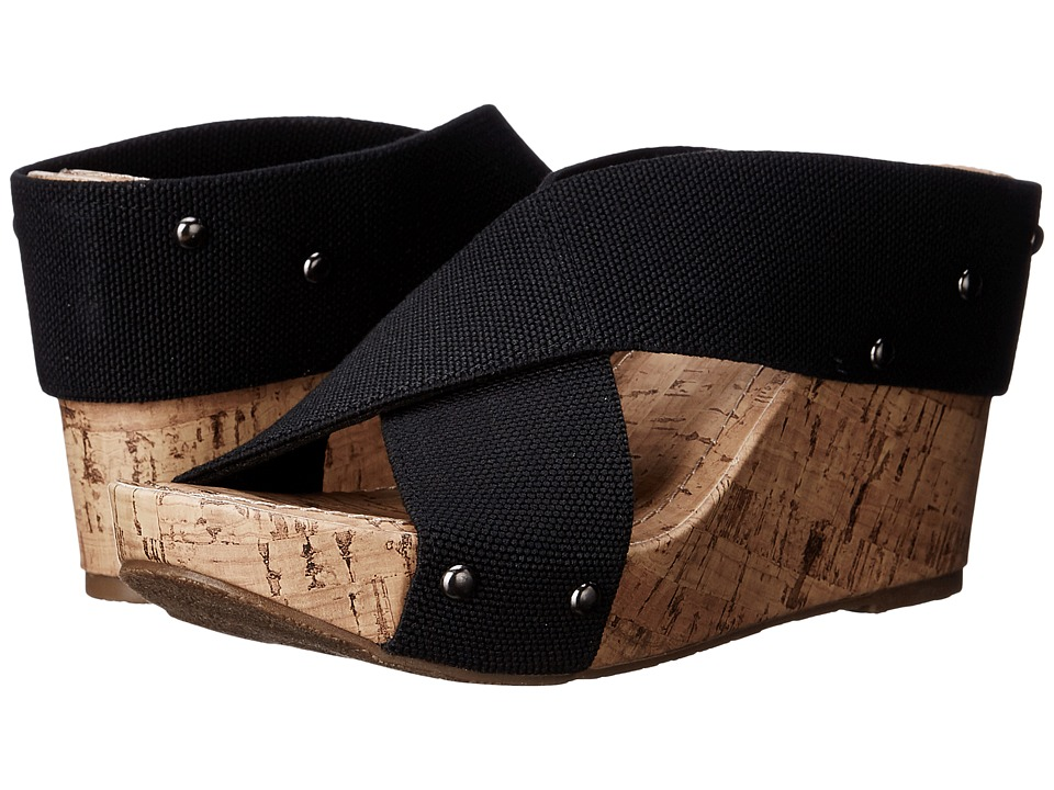 Esprit - Oceane 2 (Black) Women's Wedge Shoes