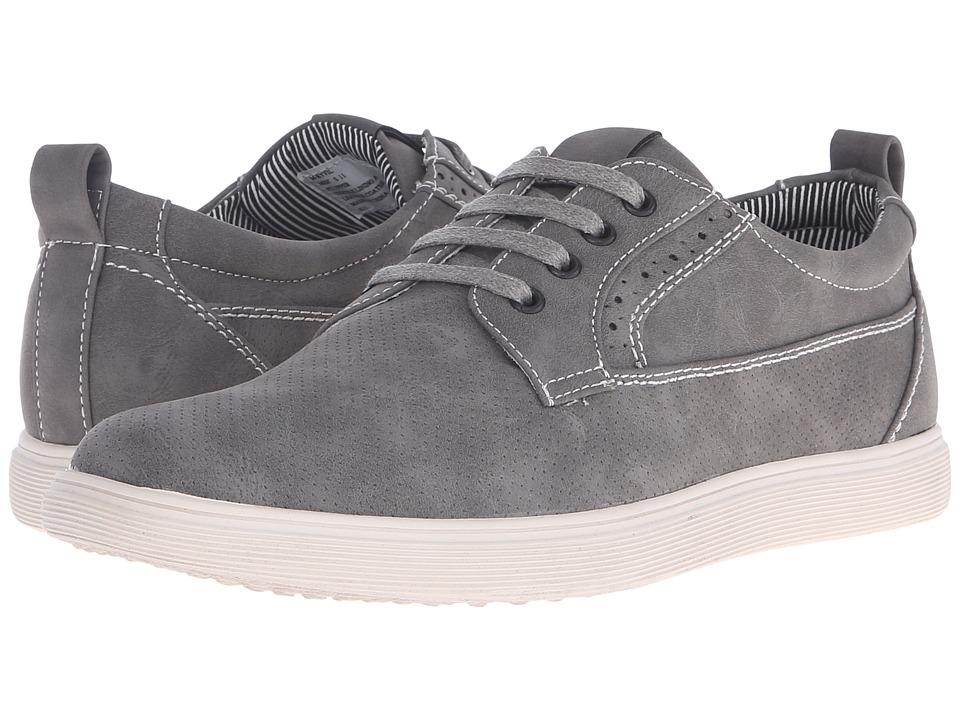 Steve Madden Ryvil Grey Nubuck Mens Lace up casual Shoes