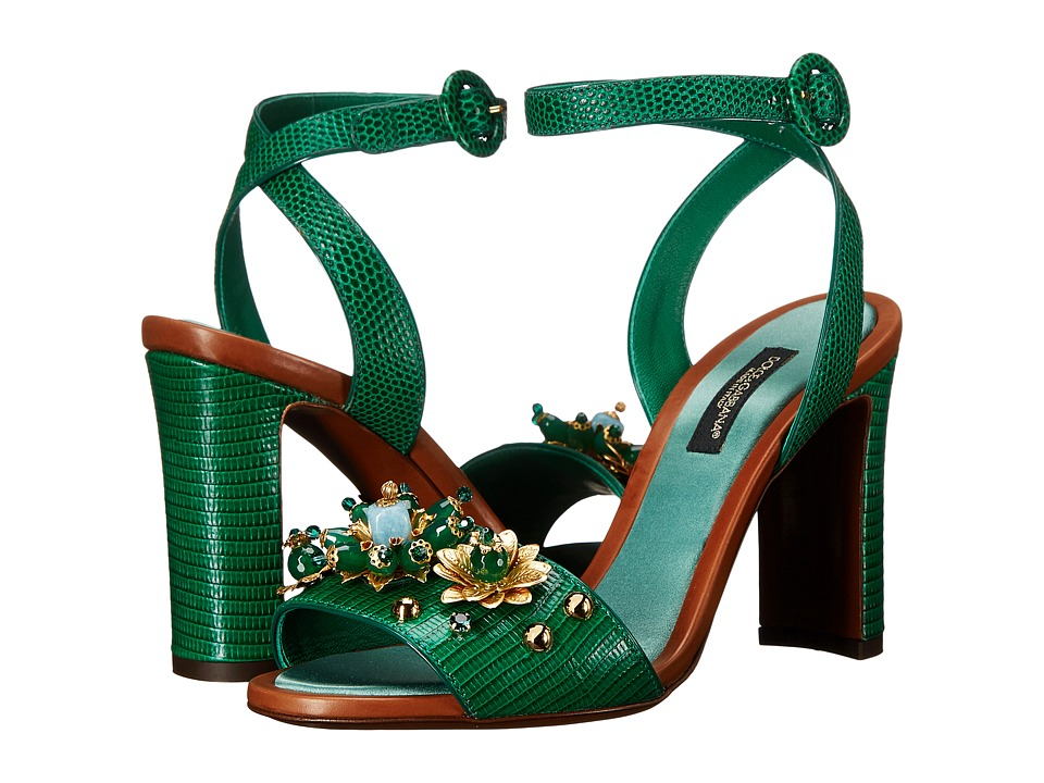 Dolce & Gabbana - Sandals (Verde Smeraldo) Women's Shoes