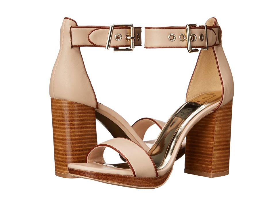 Ted Baker Lorno (Light Taupe Leather) High Heels