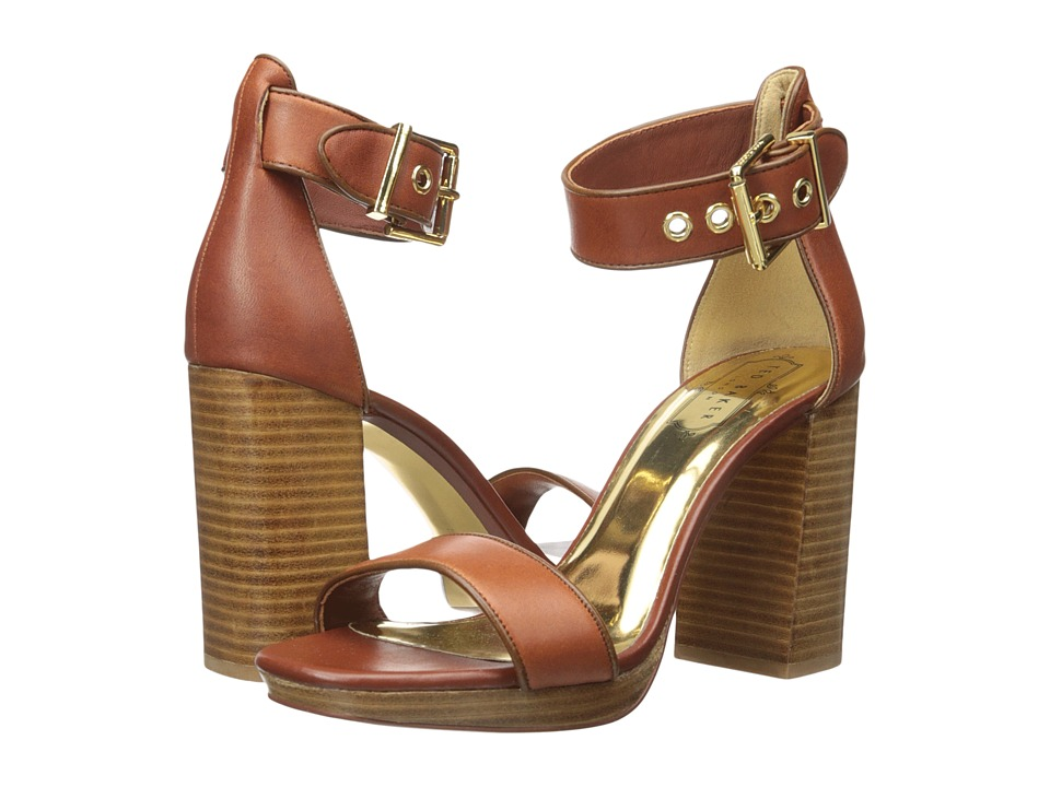 Ted Baker Lorno (Tan Leather) High Heels