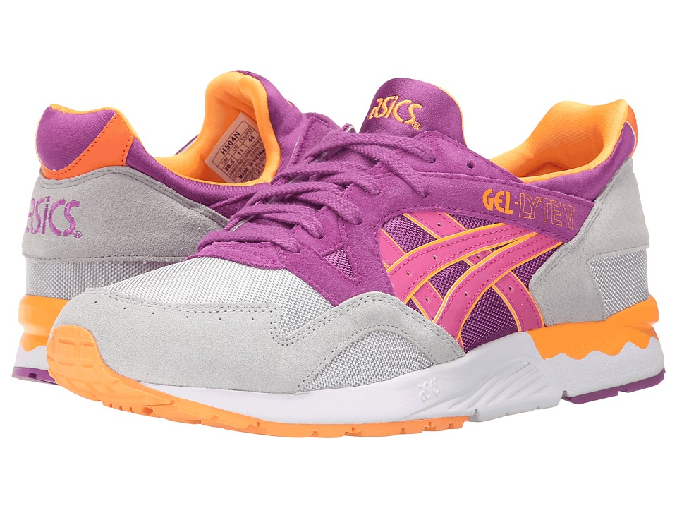 Onitsuka Tiger by Asics - Gel-Lyte V (Soft Grey/Hyacinth) Men