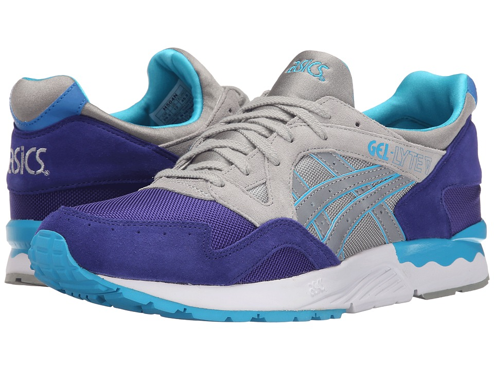 Onitsuka Tiger by Asics - Gel-Lyte V (Dark Blue/Light Grey) Men's Shoes