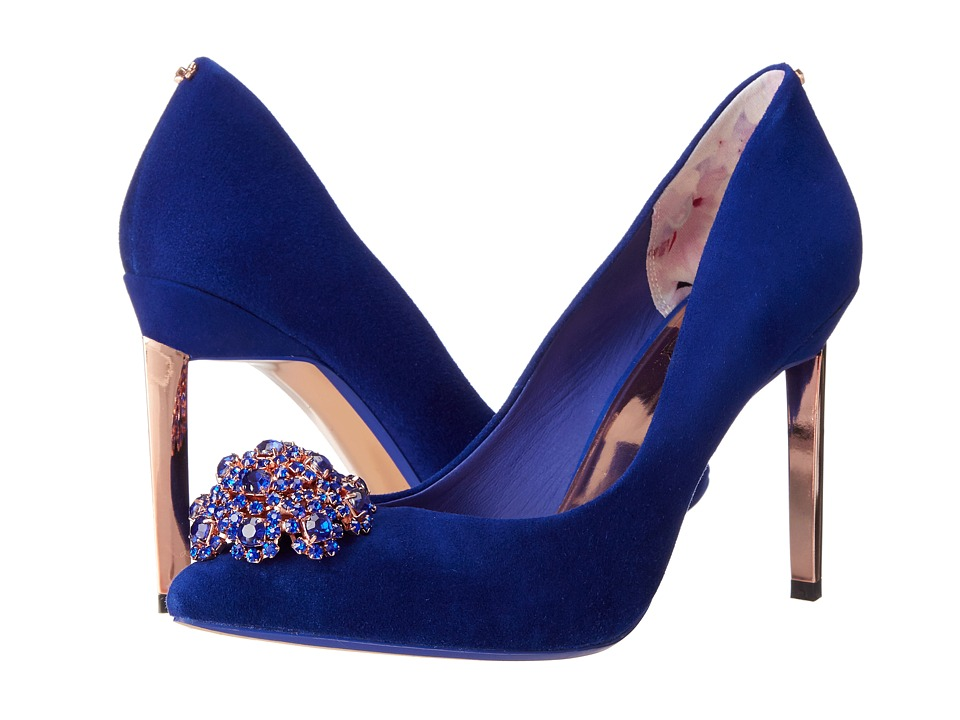 Ted Baker - Peetch (Blue Suede) High Heels