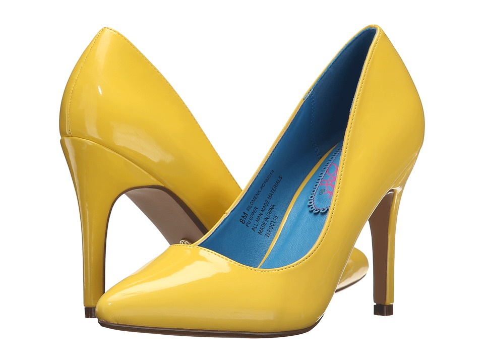 XOXO - Filomena (Yellow) Women's Shoes