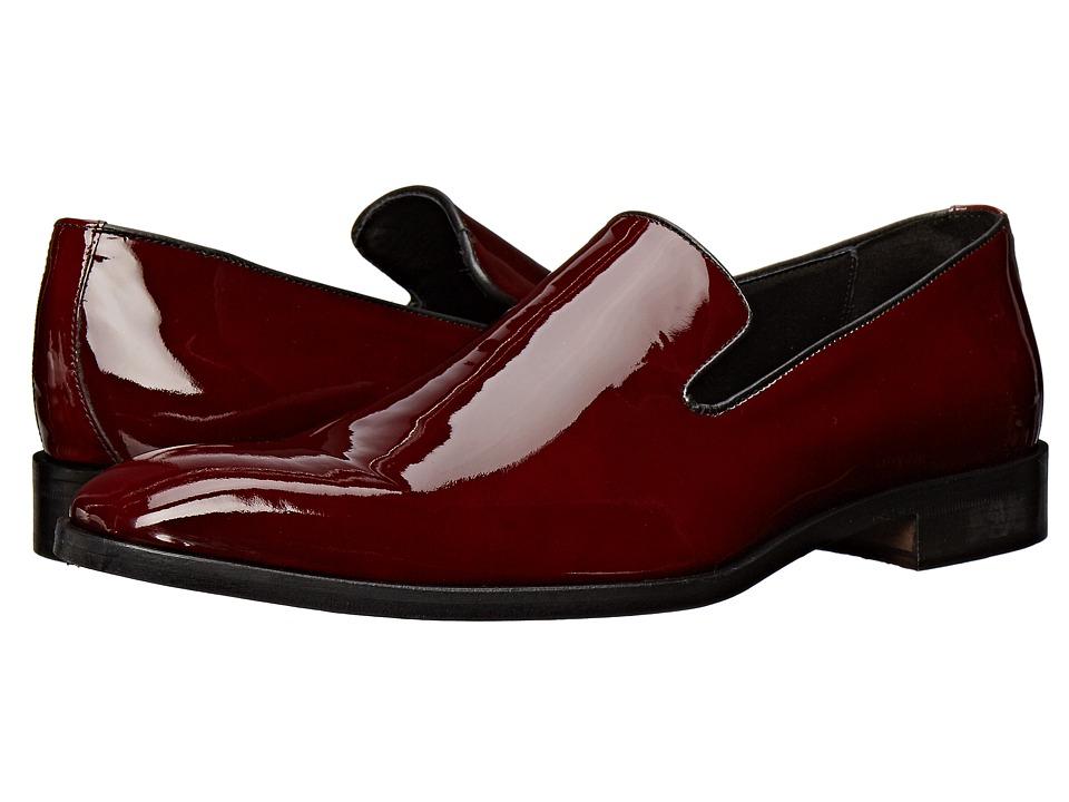 Massimo Matteo - Formal Slip-On (Burgundy) Men's Slip on Shoes