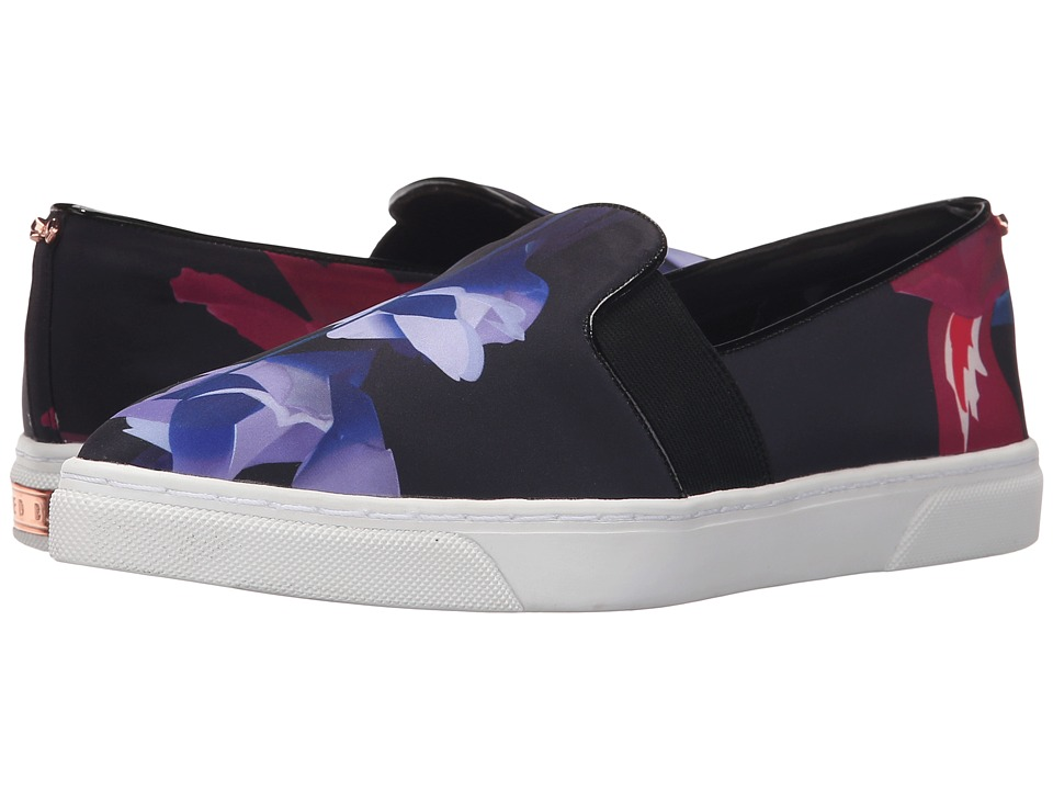 Ted Baker - Thfia (Graphic Floral Textile) Women's Slip on Shoes