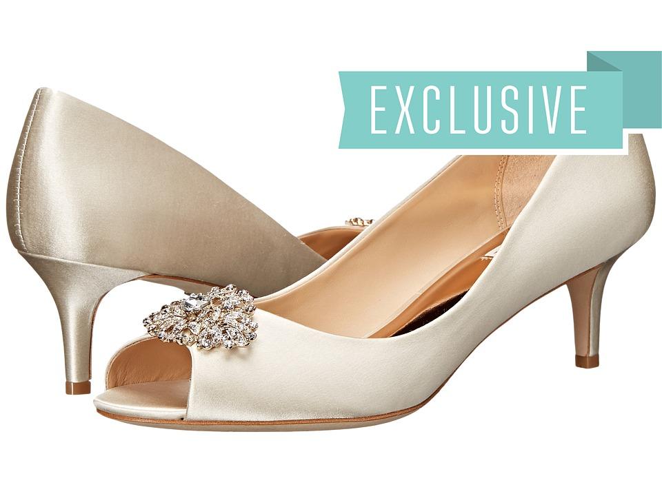 Badgley Mischka Layla (Ivory) High Heels