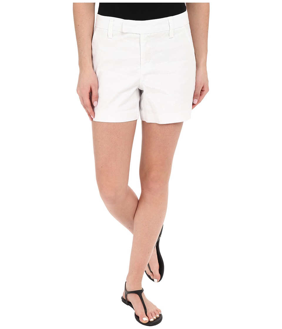 Level 99 - Slack Shorts (Optic White) Women's Shorts