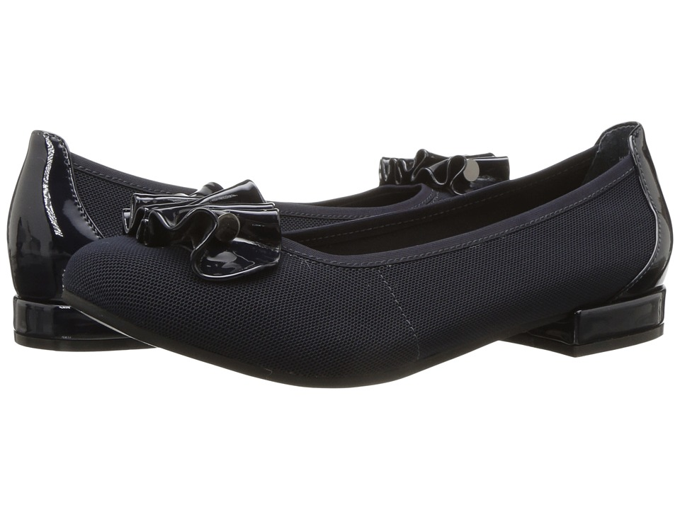 David Tate - Alice (Black Microfiber) Women's Shoes